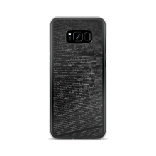 Load image into Gallery viewer, Codes - Samsung Case - $25.00 - Samsung Galaxy S8+