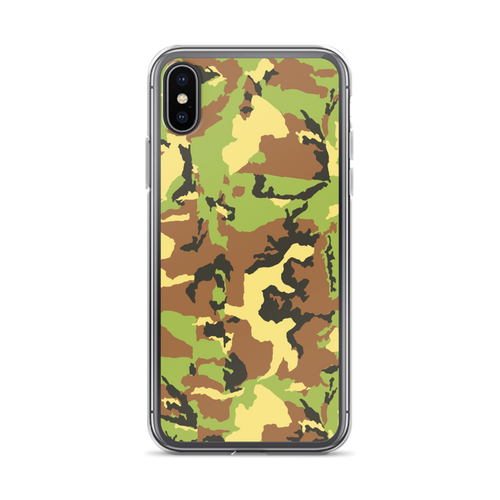 Green Camo - Iphone Case - $25.00 - Iphone X/xs