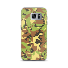 Load image into Gallery viewer, Green Camo - Samsung Case - $25.00 - Samsung Galaxy S7 Edge