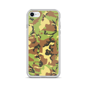 Green Camo - Iphone Case - $25.00 - Iphone 7/8