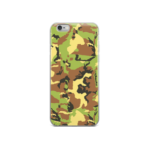 Green Camo - Iphone Case - $25.00 - Iphone 6/6S