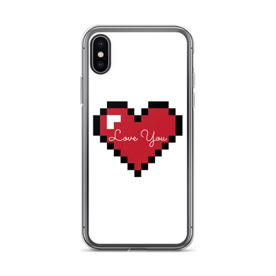 Love Heart - $25.00 - Iphone X/xs