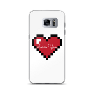 Love Heart - $25.00 - Samsung Galaxy S7 Edge