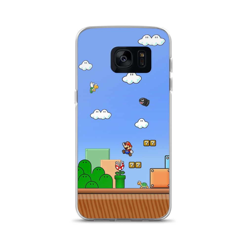 Mario World - Samsung Case - $25.00 - Samsung Galaxy S7