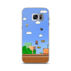 Mario World - Samsung Case - $25.00 - Samsung Galaxy S7 Edge