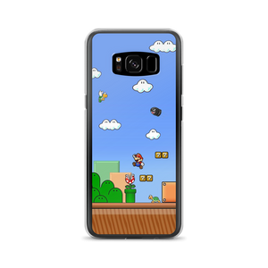Mario World - Samsung Case - $25.00 - Samsung Galaxy S8