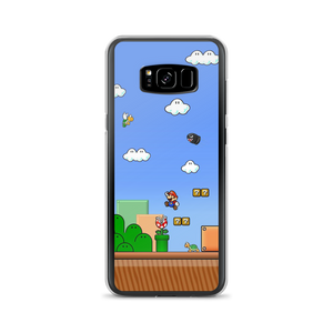 Mario World - Samsung Case - $25.00 - Samsung Galaxy S8+