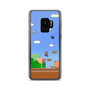Mario World - Samsung Case - $25.00 - Samsung Galaxy S9