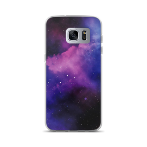 Purple Galaxy - Samsung Case - $25.00 - Samsung Galaxy S7 Edge