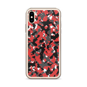 Red Camo - Iphone Case