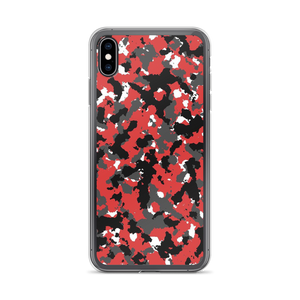 Red Camo - Iphone Xs Max - Iphone Case