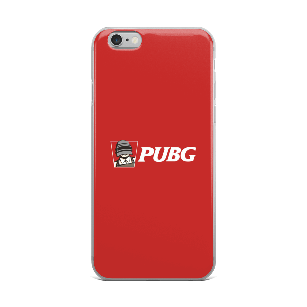 Red Pubg - Limited Edition - Iphone Case - $30.00 - Iphone 6 Plus/6S Plus