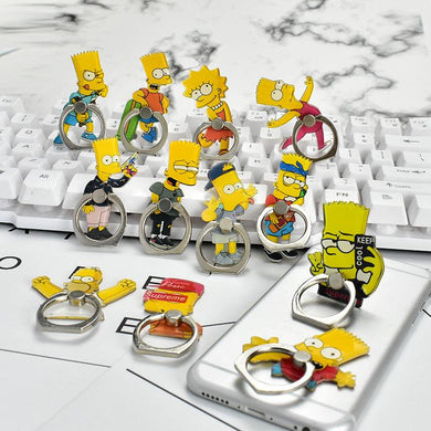 The Simpsons Free Finger Ring From Azoro