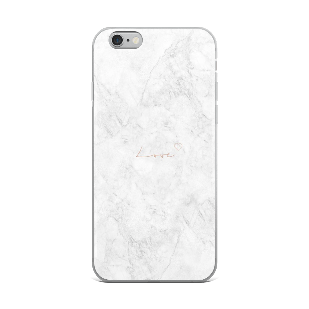 White Marble - Iphone Case - $25.00 - Iphone 6 Plus/6S Plus