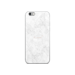 White Marble - Iphone Case - $25.00 - Iphone 6/6S