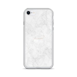 White Marble - Iphone Case - $25.00 - Iphone 7/8