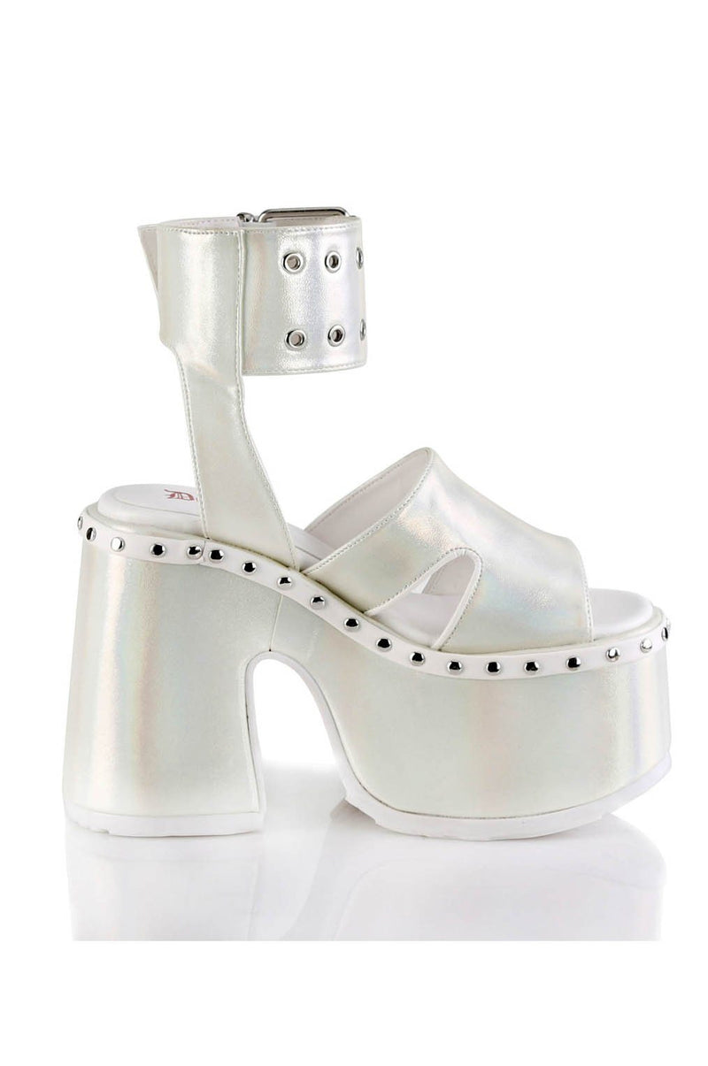 Y2k BELT PLATFORM SANDALS - Shop Noctex