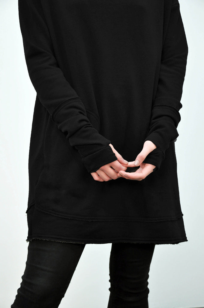 Unisex Long Pullover