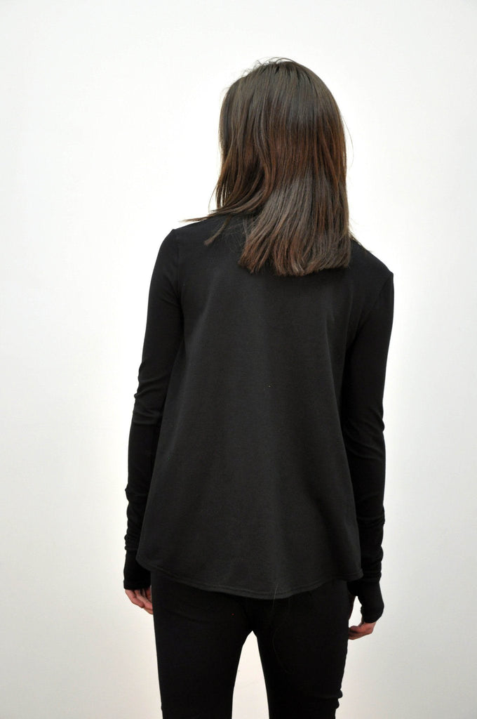 Anya - Open Shoulder Longsleeve (LOW STOCK) - NOCTEX