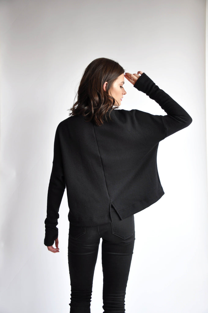 Crop Sweater - NOCTEX - BUY NOW PAY LATER (506217005086)