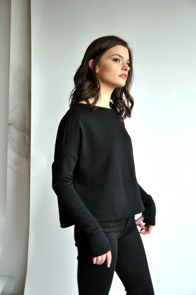 Crop Sweater - NOCTEX