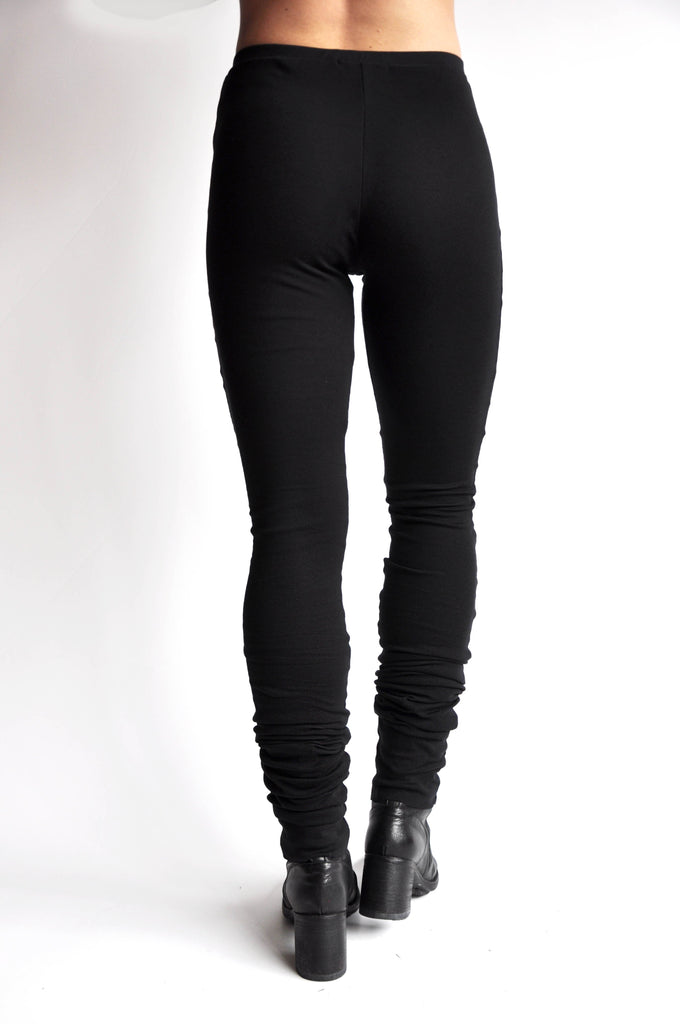 High Waist Long Leggings - NOCTEX