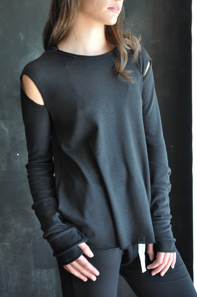 Anya - Slit Shoulder Longsleeve (LOW STOCK)