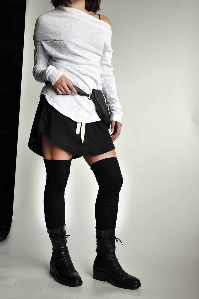 RIB THIGH HIGHS - SLIP-PROOF (1415383154760)