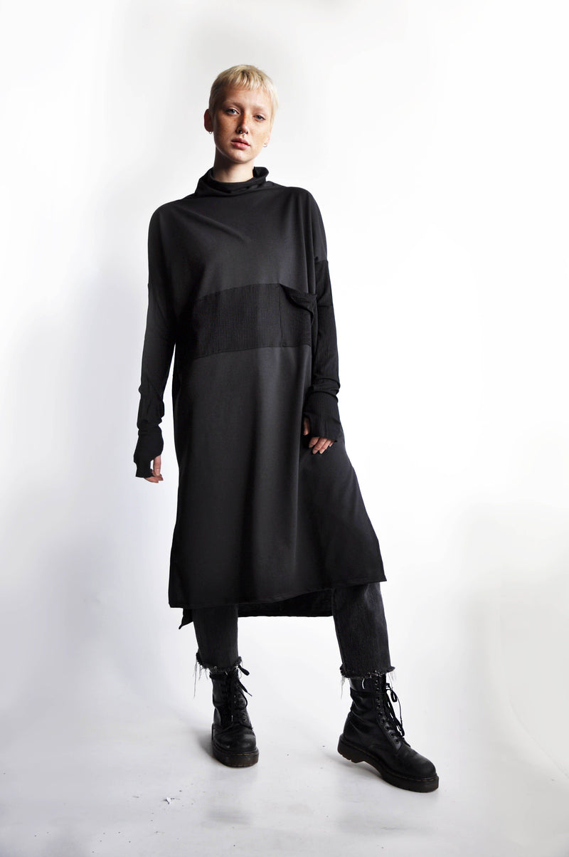 CODE TUNIC - BLACK - Shop Noctex