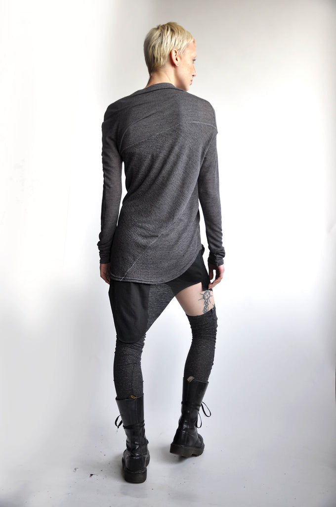 Splice Longsleeve - Ash Grey [LOW STOCK]