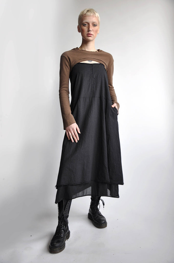 FERRA LINEN DRESS - NOCTEX - BUY NOW PAY LATER (1655126720584)
