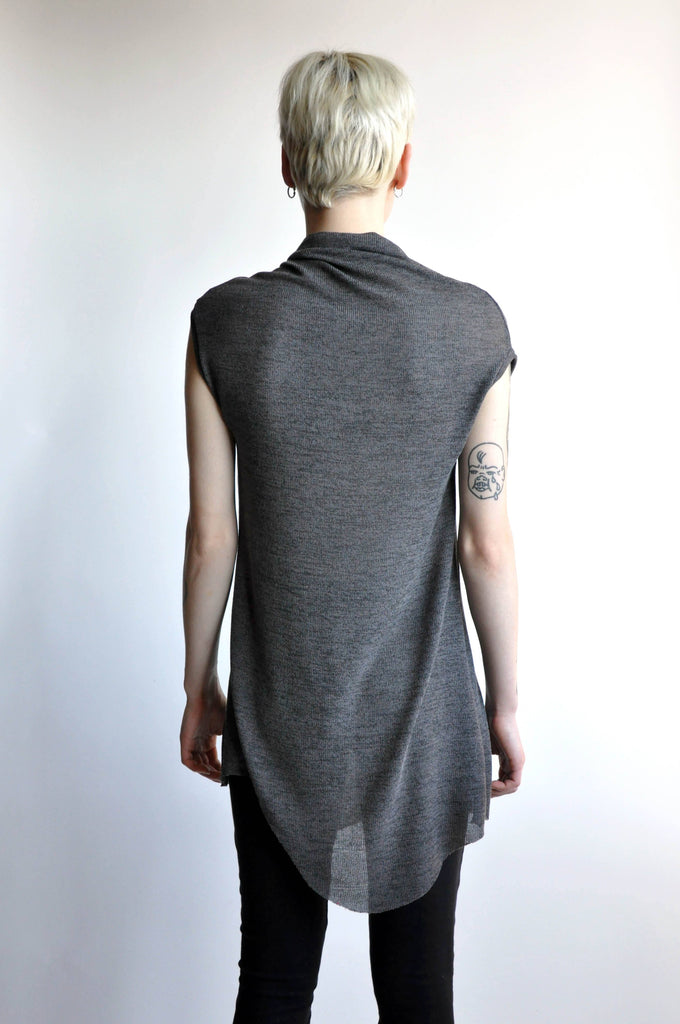 Sleeveless Val - Steel (1646363115592)