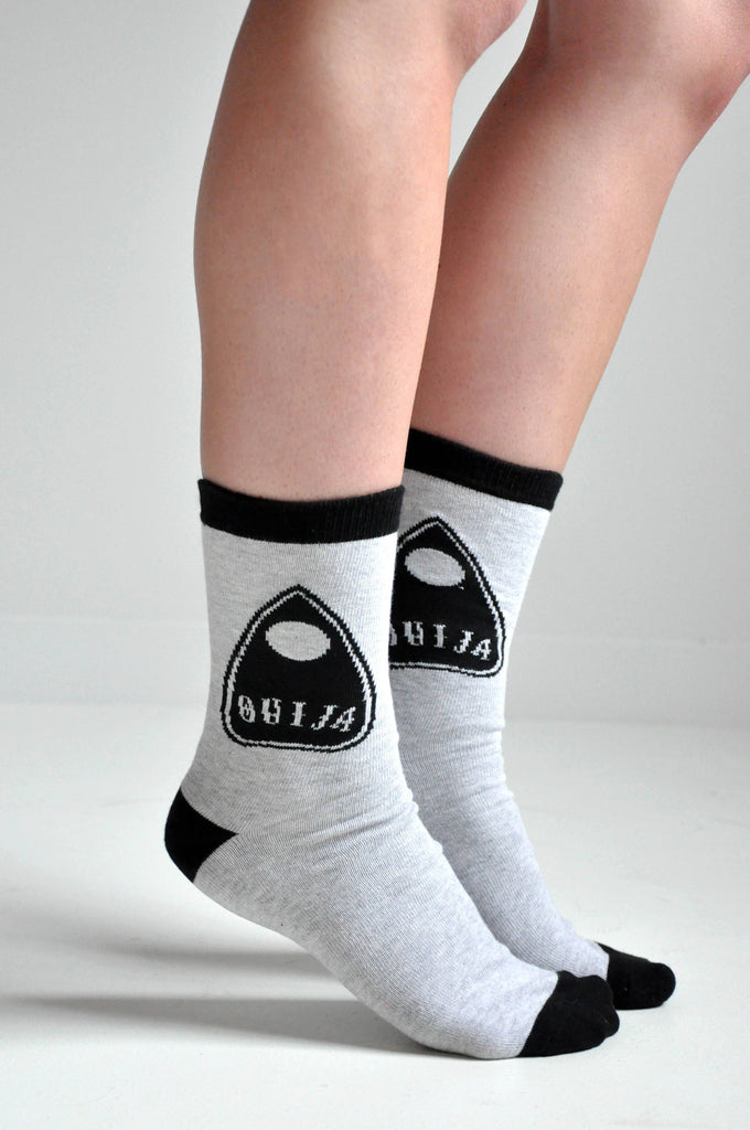 OUIJA Planchette Socks - NOCTEX - BUY NOW PAY LATER (1577115287624)