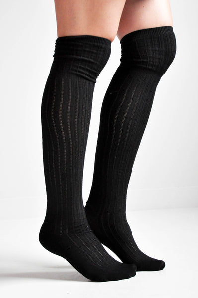 KNEE HIGH SOCKS - NOCTEX - BUY NOW PAY LATER (3562264330312)