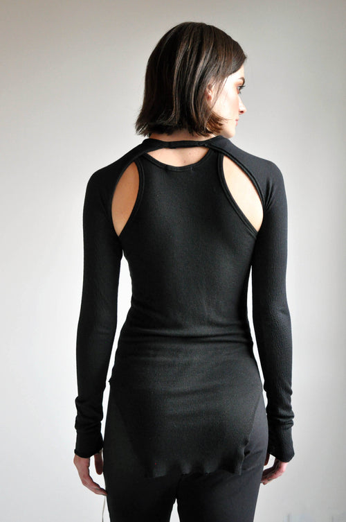 AYLA SHRUG - BLACK - NOCTEX - BUY NOW PAY LATER (3537135468616)