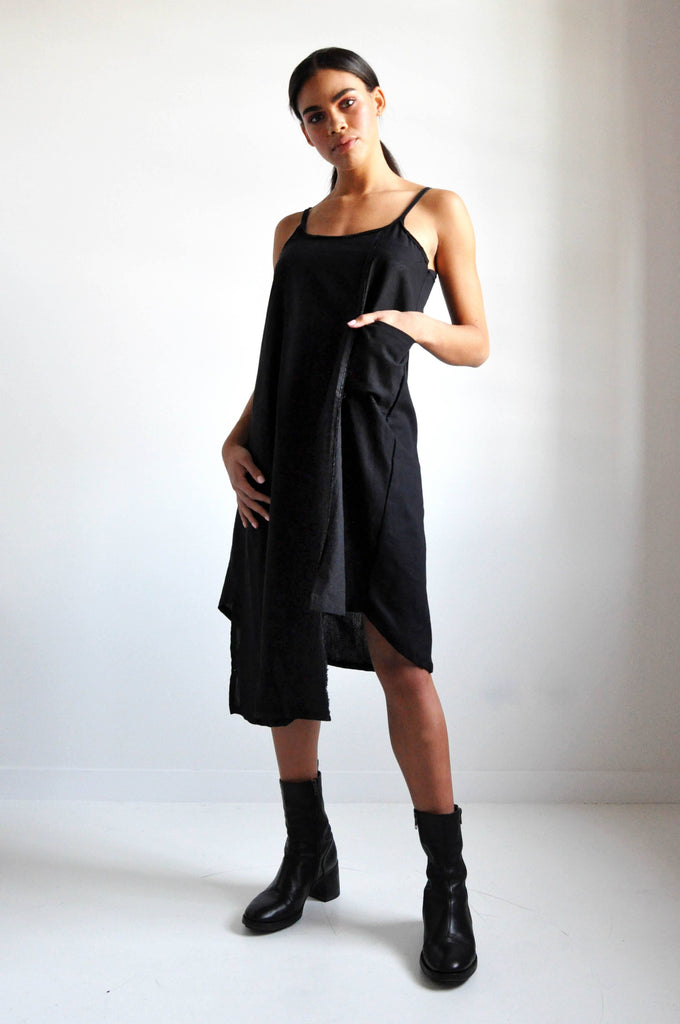 HAYLEY LINEN DRESS - NOCTEX - BUY NOW PAY LATER