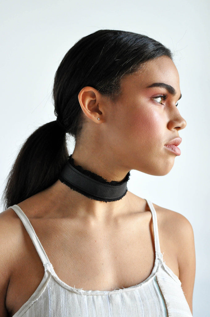 Frayed Choker - NOCTEX - BUY NOW PAY LATER