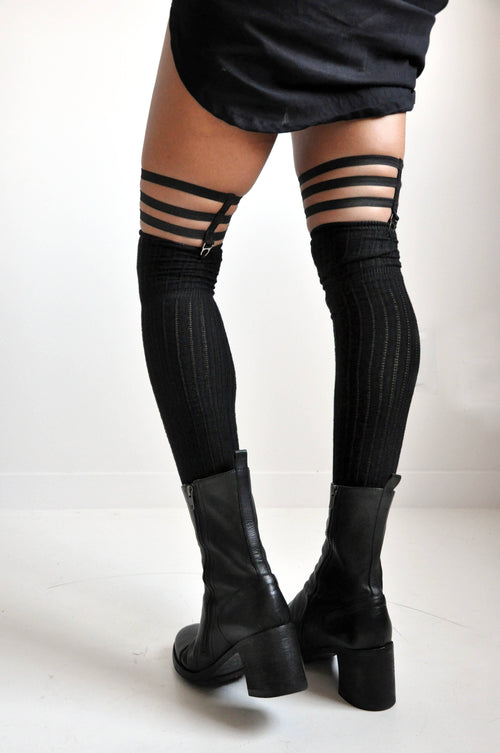 Skeleton Sock Garters - NOCTEX - BUY NOW PAY LATER (3800344887368)