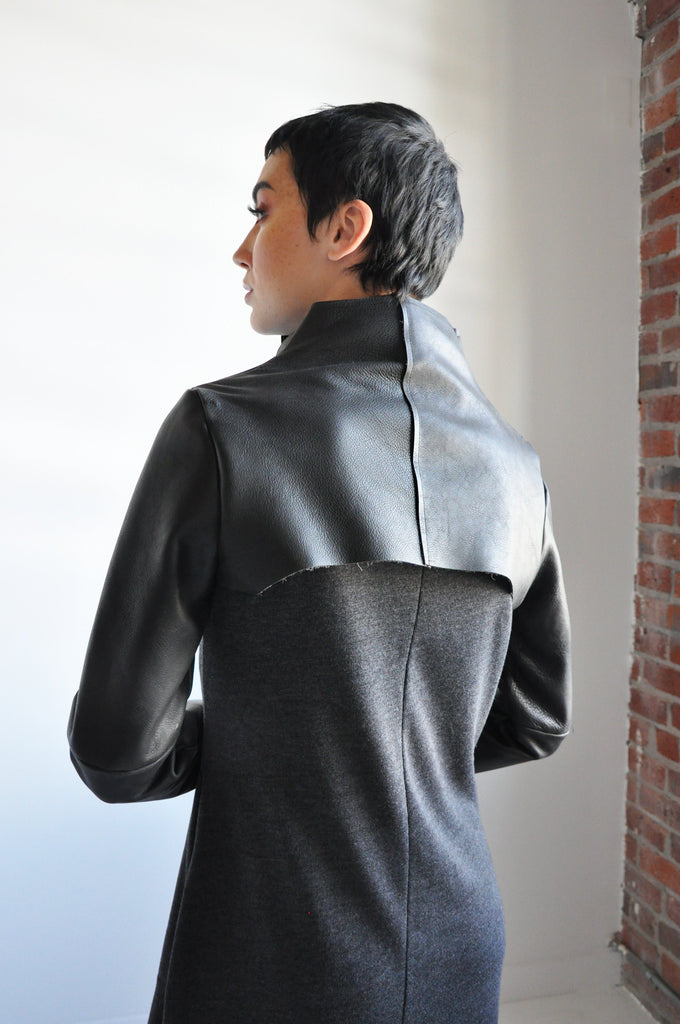 LEATHER SHRUG