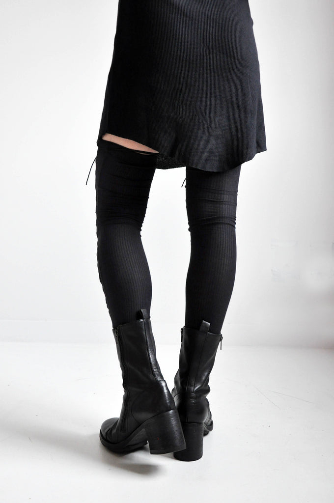 LACE UP LEG WARMERS