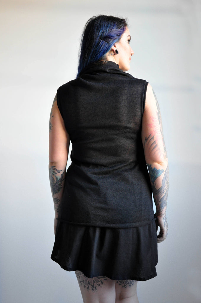Sleeveless Val - Black - NOCTEX - BUY NOW PAY LATER (1646402830408)