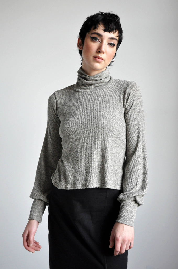 BELLE TURTLENECK - SAND *LIMITED* - NOCTEX - BUY NOW PAY LATER