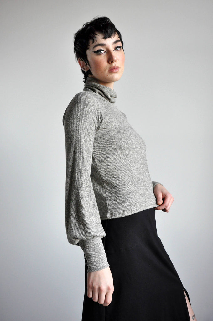 BELLE TURTLENECK - SAND *LIMITED* - NOCTEX - BUY NOW PAY LATER (4357000822856)