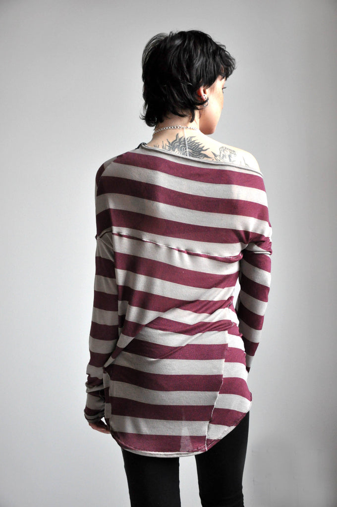 Splice Longsleeve - STRIPE [LIMITED] - NOCTEX - BUY NOW PAY LATER