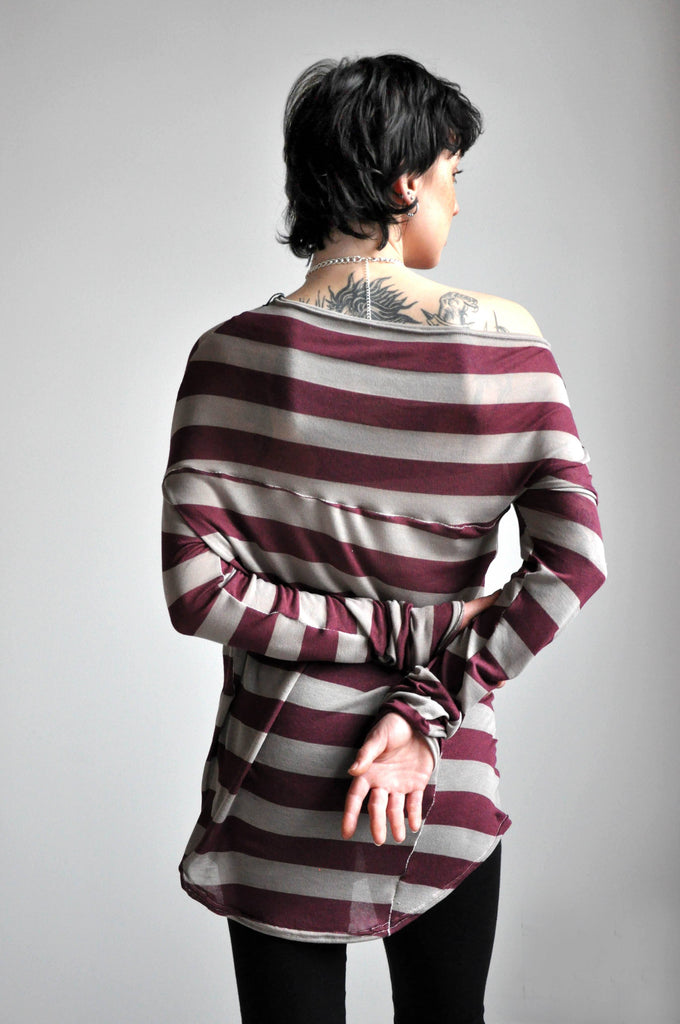 Splice Longsleeve - STRIPE [LIMITED] (4431780413512)