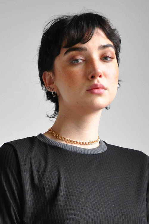 Chain choker - Gold - Shop Noctex