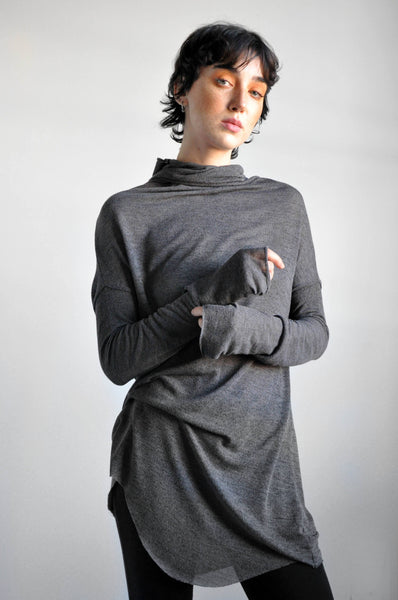 Longsleeve Val - STEEL - NOCTEX - BUY NOW PAY LATER (4431789391944)