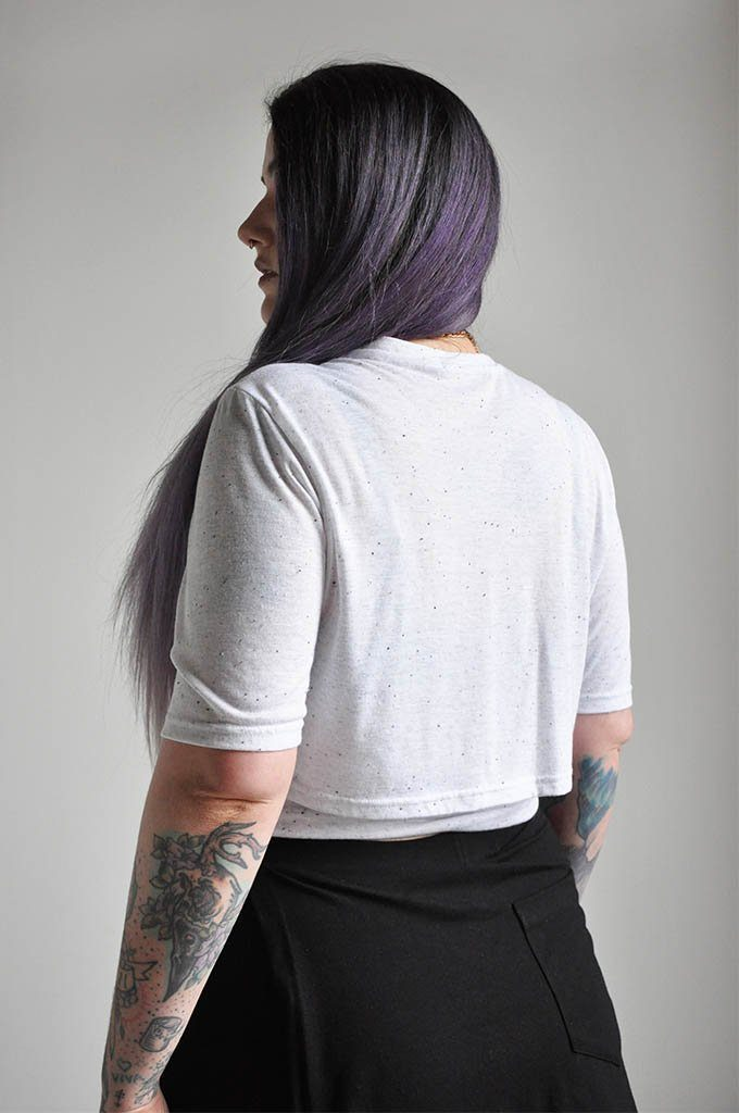 CROP WRAP TEE - NOCTEX - BUY NOW PAY LATER