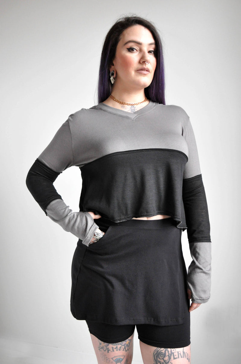 DAZED CROP LONGSLEEVE - NOCTEX - BUY NOW PAY LATER (3927416111176)
