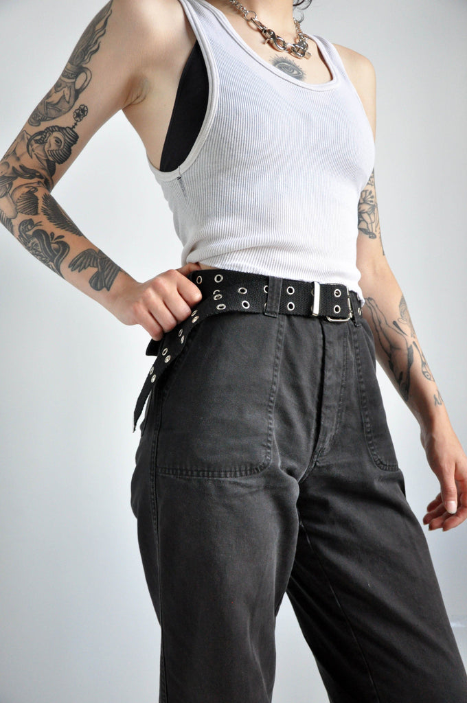 Y2K CANVAS BELT - NOCTEX - BUY NOW PAY LATER (5243642970268)